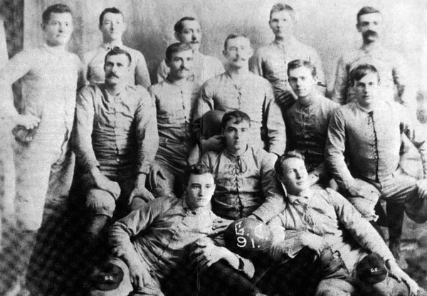 Geneva College Basketball Team 1891
