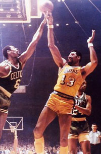 Russell-Wilt with Lakers