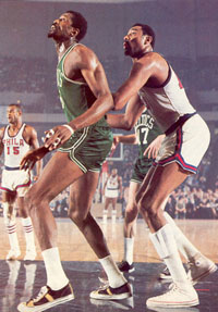 Russell vs Chamberlain later in their careers