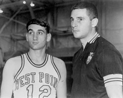 Mike Krzyzewski and Bobby Knight at West Point