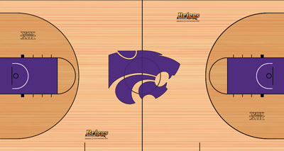 2011-12 College Basketball Court