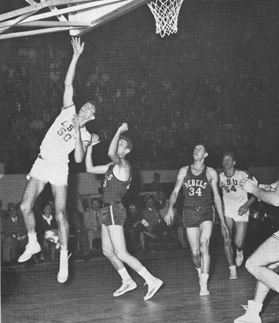 Bob Pettit vs Ole Miss