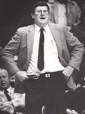Kentucky Coach Joe. B. Hall