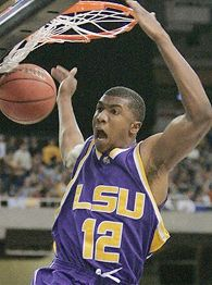 LSU F Tyrus Thomas