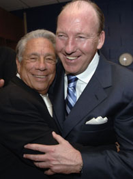 Owner Donald Sterling and Coach Mike Dunleavy