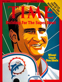 Don Shula on Time Cover