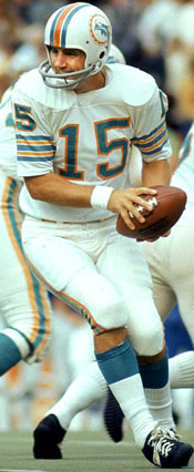 Dolphins QB Earl Morrall