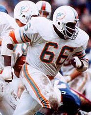 Dolphins G Larry Little
