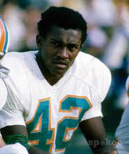 Dolphins WR Paul Warfield