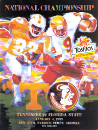 1999 Fiesta Bowl Program
