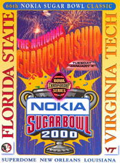 2000 Sugar Bowl Program