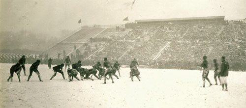 1925 Iowa-Wisconsin Action - 1
