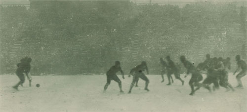 1925 Iowa-Wisconsin Action - 2