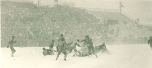 1925 Iowa-Wisconsin Action - 3