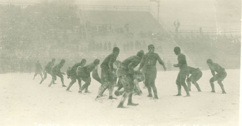 1925 Iowa-Wisconsin Action - 4