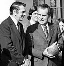 George Allen and Richard Nixon