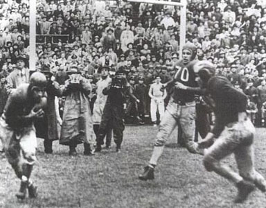 1942 Ohio State-Michigan Action