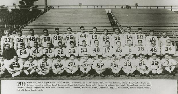 1939 NFL Champion Green Bay Packers