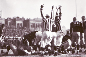 1941 Bears-Packers Playoff Action - 1