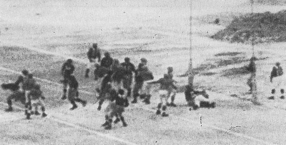 1945 NFL Championship Game Action - 3