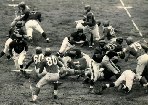 1946 NFL Championship Game Action