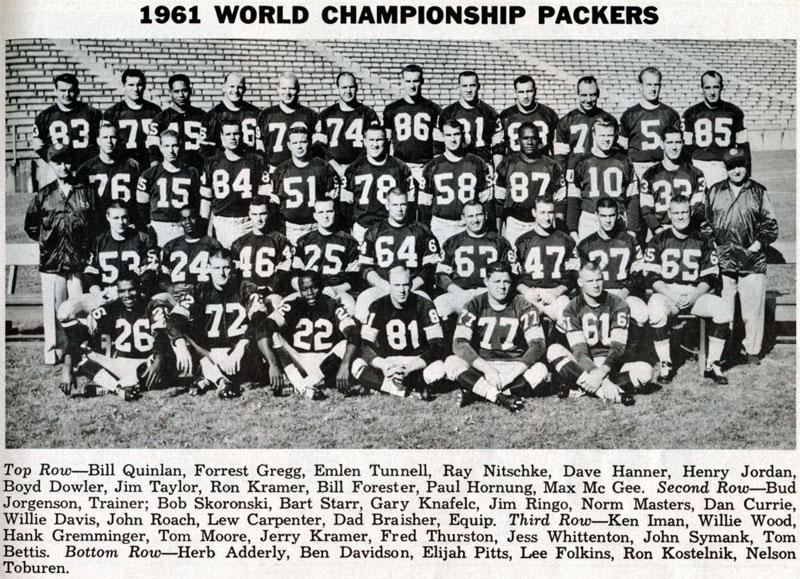 1961 Nfl Championship Game border=