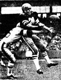 1967 Saints-Giants Action