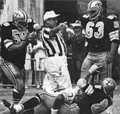 1969 Saints-49ers Action - 5