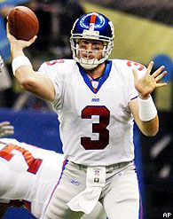 Giants QB Jesse Palmer