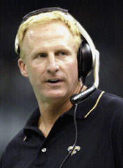 Saints Coach Jim Haslett