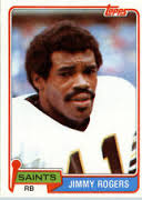 Saints RB Jimmy Rogers