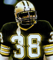 Saints RB George Rogers