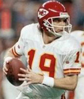 Chiefs QB Joe Montana