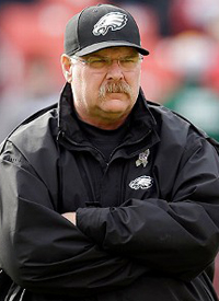 Eagles Coach Andy Reid