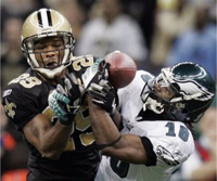 Saints S Bullock breaks up pass to Stallworth.