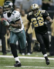 Eagles WR Donte Stallworth scores 75y TD.