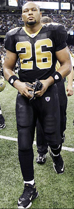 Saints RB Deuce McAllister