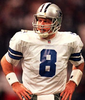 Cowboys QB Troy Aikman