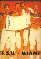 1958 FSU-Miami Program Cover
