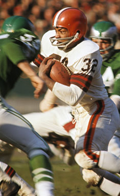 Browns RB Jim Brown
