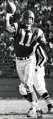 Eagles QB Norm Van Brocklin