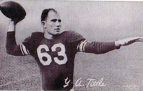 QB Y. A. Tittle, Baltimore Colts