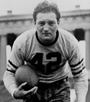 Chicago Bears QB Sid Luckman