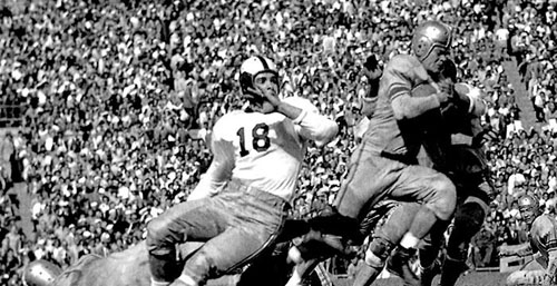 Steve Van Buren in 1944 Orange Bowl