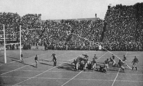 1908 College Football Game