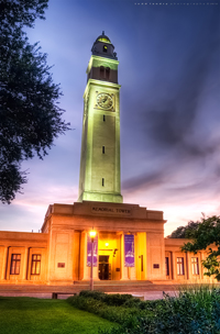 Boyd Memorial Tower on the LSU Campus