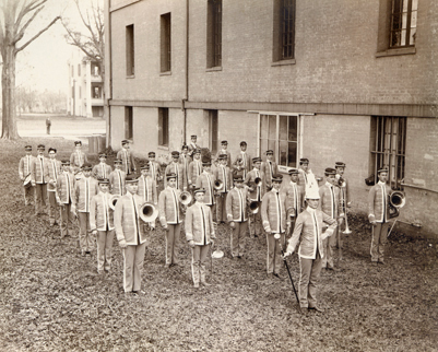 LSU Cadet Band c. 1900