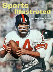Y.A. Tittle on Cover of Sports Illustrated