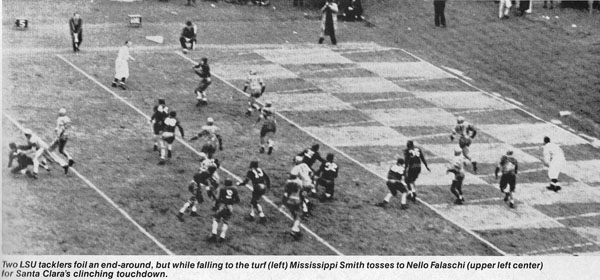 1937 Sugar Bowl - Santa Clara's Clinching TD