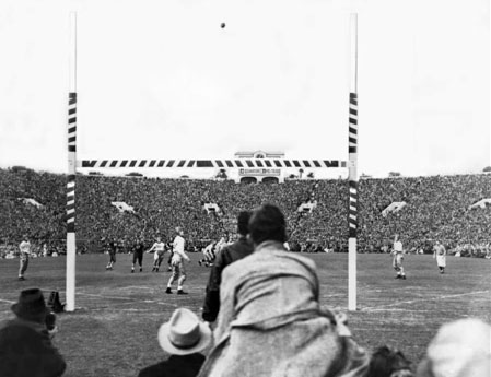 Duke FG 1939 Rose Bowl